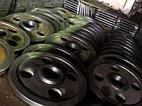 Литье рабочих колес, зубчатые колеса, диски, фото 2