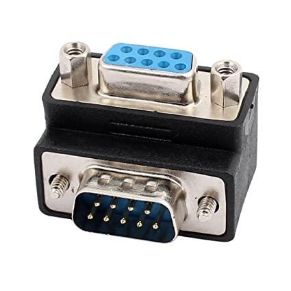 Адаптер VGA (M) - VGA (F) 90* — Black