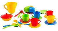 Набор посуды Ромашка 28 элементов Wader