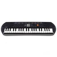 Синтезатор цифровой детский (Клавишник) CASIO SA-77AH7 (44 клавиши, черный)