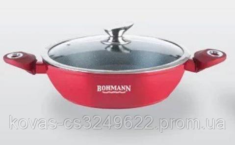 Сотейник Bohmann красного цвета - 3,8л\28см