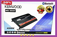 Автомобильный усилитель звука Kenwood MRV-805BT + USB 4200Вт 4х канальный Bluetooth