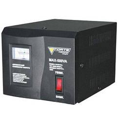 Стабилизатор напряжения Forte MAX-500VA NEW (500Вт)