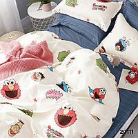 Комплект постельного белья ранфорс 20111