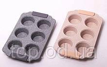 Форма для запекания 30*18*3см из углеродистой стали с 6 отделениями