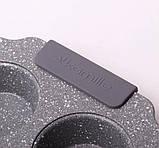 Форма для запікання 30*18*3см з вуглецевої сталі з 6 відділеннями, фото 7
