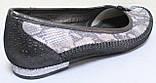 Балетки кожаные большого размера от производителя модель МИ5012-36Р, фото 5