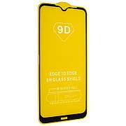 Защитное стекло Full Cover 9D на Xiaomi Redmi Note 8T Black