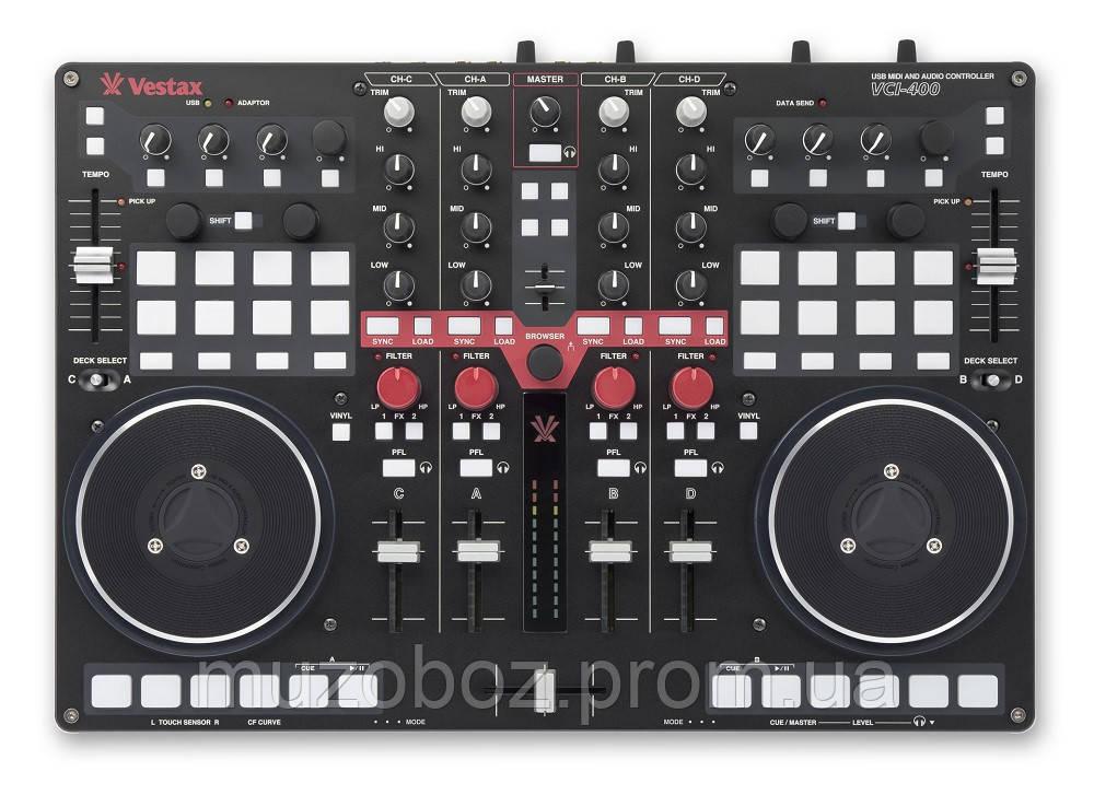 Контроллер Vestax VCI-400 DJ