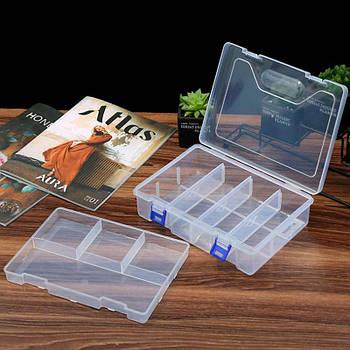 Органайзер пластиковая коробка для Arduino радиодеталей кейс 23*16