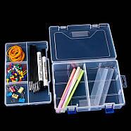 Органайзер пластиковая коробка для Arduino радиодеталей кейс 23*16, фото 4
