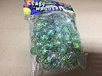 Камни для декора шарики прозрачные с вкраплениями d 1,5 см, 480 гр