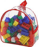 Конструктор пластиковый, 100 деталей Полесье