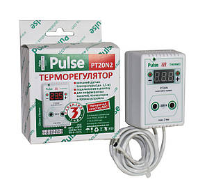 Цифровой Терморегулятор в розетку ( для погреба, инкубатора, теплицы, обогревателя и др. объектов) 2 кВт