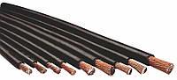 Кабель сварочный резина 25 мм2 (70%,30%метал) с разметкой.