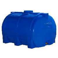 Емкость 200 литров горизонтальная