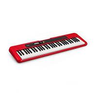 Синтезатор цифровой (Клавишник) CASIO CT-S200RDC7 (61 клавиша, красный)