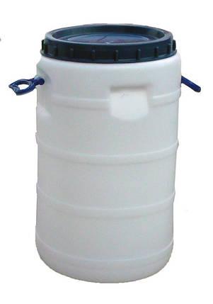 Бидон пластиковый 40 л пищевой, фото 2