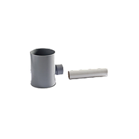 Подключение к водосточной трубе Ø80 мм