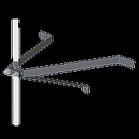 М16/3 Держатель мачты L450 к стене с утеплением (нержавеющая сталь)