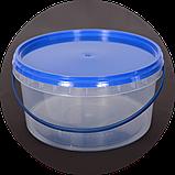 Відро пластикове харчове 3л (упаковка 20 шт). Дивіться опт ціни!, фото 3