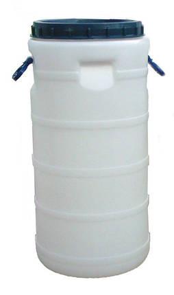 Бидон пластиковый 50 л пищевой, фото 2