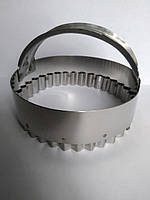 Вырубка  Сочник  гофрированная диаметром 12 см