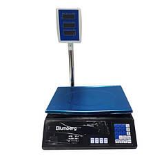 Электронные торговые весы со стойкой Blumberg YZ-208 на 50 кг, фото 3
