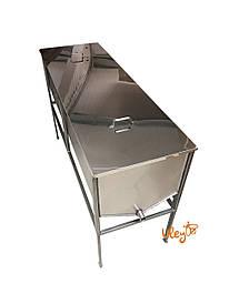 Стол – воскотопка, с крышкой – 1,5 метра, толщина 0,8 мм