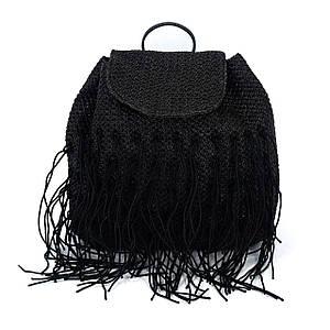 Сумка женская Marmilen Бахромка черная (9854-04 )
