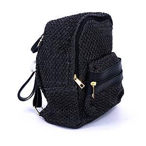 Сумка женская Marmilen Мона плетеная черная (9883-04 )