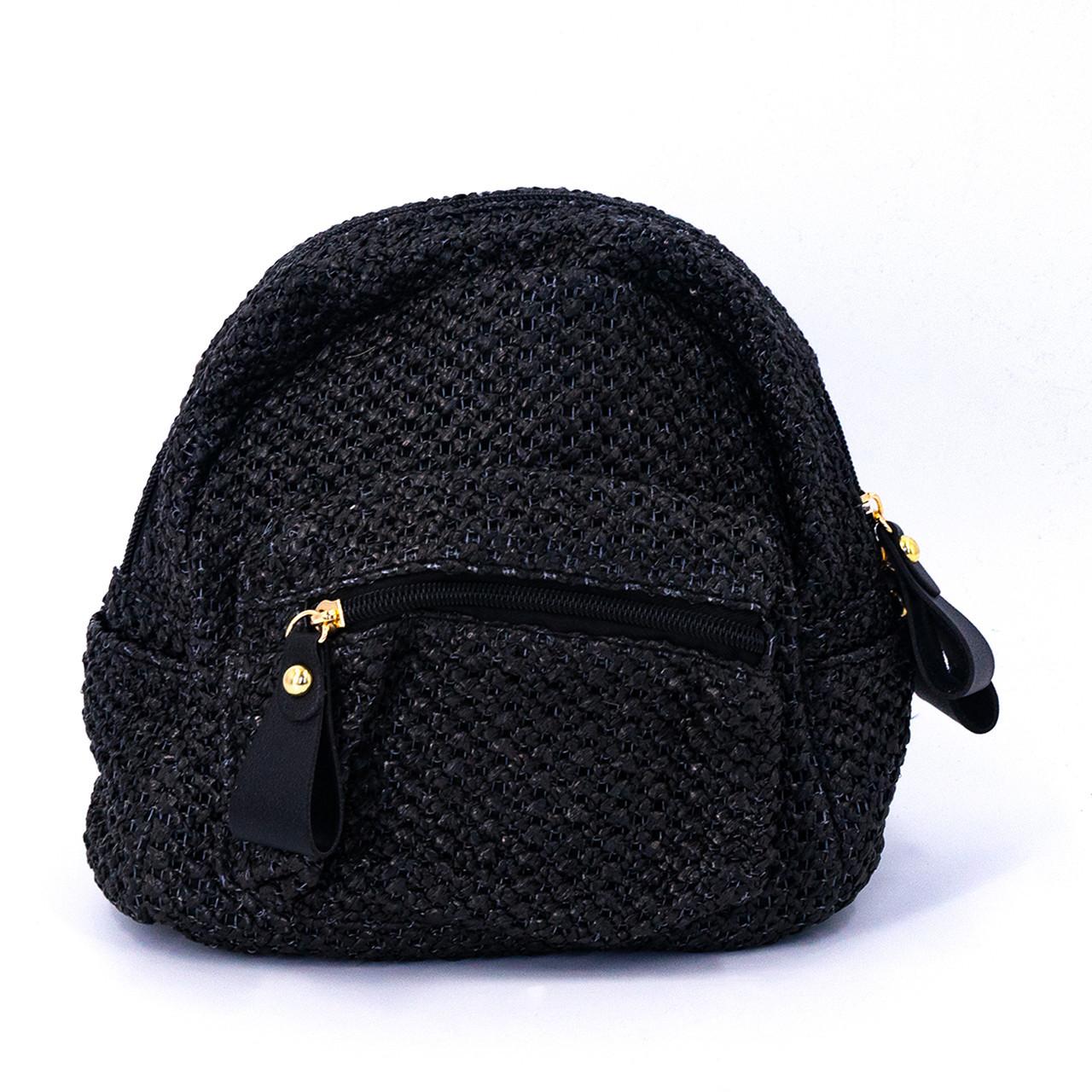Сумка женская Marmilen Мини плетеная черная (9326-04 )
