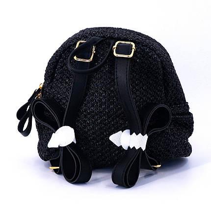 Сумка женская Marmilen Мини плетеная черная (9326-04 )    , фото 2