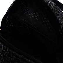 Сумка женская Marmilen Мини плетеная черная (9326-04 )    , фото 3