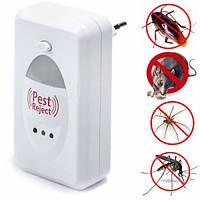 Ультразвуковой отпугиватель насекомых и грызунов Reject Pest sv042