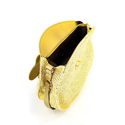 Сумка женская Marmilen Круглая золотистая (9904-06 )     , фото 2
