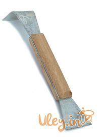 Стамеска пасечная с деревянной ручкой, Нержавеющая