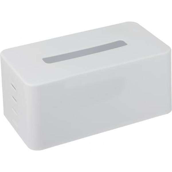 Настольный Держатель для салфеток косметических в боксе, белый Италия Диспенсер для салфеток в коробке ZZ