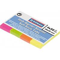 Закладки бумажные с клейким слоем Donau (7576001PL)