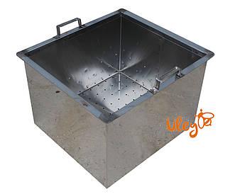 Корзина для забруса, нержавеющая сталь, 440х390х280 мм
