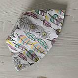Хлопковая панамка от солнца размер 46-48 см, фото 3