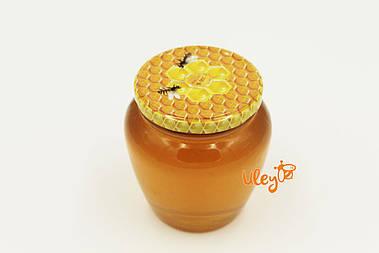 Крышка для меда на стеклянную банку СОТА №22, Твист-офф 82мм