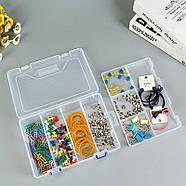Органайзер пластиковая коробка для Arduino радиодеталей кейс 23*16, фото 6