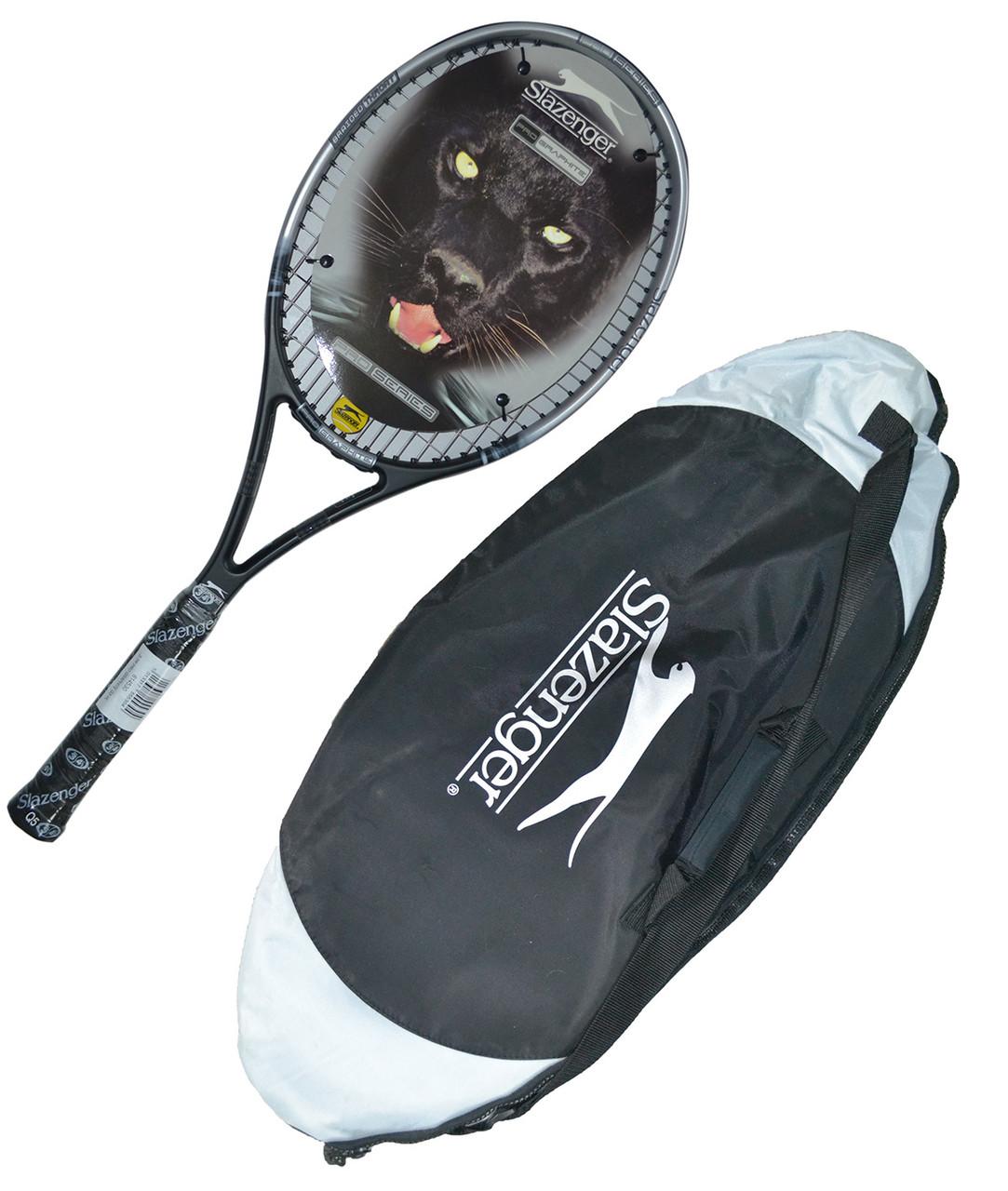 Ракетка для большого тенниса Slazenger в чехле.