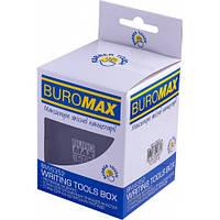 Стакан пластиковый RUBBER TOUCH для письменных принадлежностей Buromax (BM.6352-01)