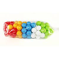 Кульки маленькі для сухого басейну 100 шт у пакеті 6 см, MasterPlay (1-117)