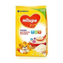 Каша безмолочна Milupa Рисова, 4+, 170г