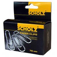 Скрепки прямые Scholz (4704)
