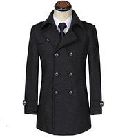 Мужское теплое пальто. Модель 61787, фото 4