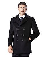 Мужское теплое пальто. Модель 61787, фото 6